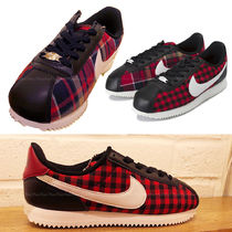 Nike CORTEZ Gingham Other Check Patterns Low-Top Sneakers