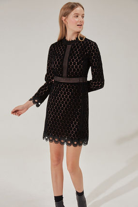 Short Long Sleeves Party Style Dresses