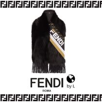 FENDI Silk Fringes Detachable Collars