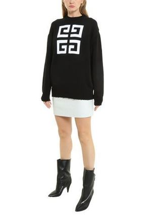 GIVENCHY Knits & Sweaters Crew Neck Pullovers Long Sleeves Cotton Knits & Sweaters 5