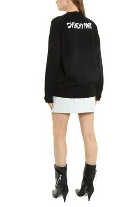 GIVENCHY Knits & Sweaters Crew Neck Pullovers Long Sleeves Cotton Knits & Sweaters 6