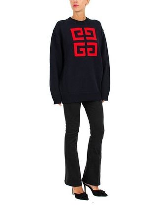 GIVENCHY Knits & Sweaters Crew Neck Pullovers Long Sleeves Cotton Knits & Sweaters 10