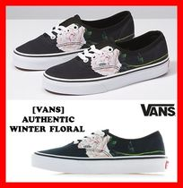 VANS AUTHENTIC Casual Style Street Style Low-Top Sneakers