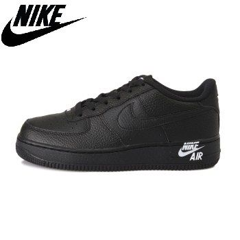 Nike AIR FORCE 1 2019 SS Unisex Petit Kids Girl Sneakers (AO3626,001)