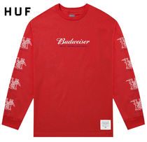 HUF Street Style Collaboration Long Sleeves Long Sleeve T-Shirts