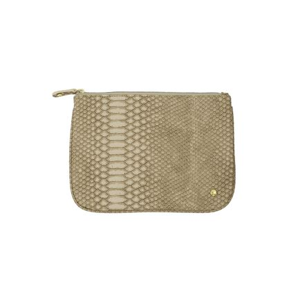 PVC Clothing Python Pouches & Cosmetic Bags
