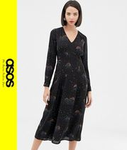 ASOS Casual Style Long Sleeves Dresses