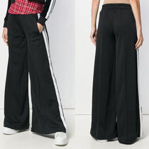 Palm Angels Casual Style Street Style Plain Long Wide Leg Pants