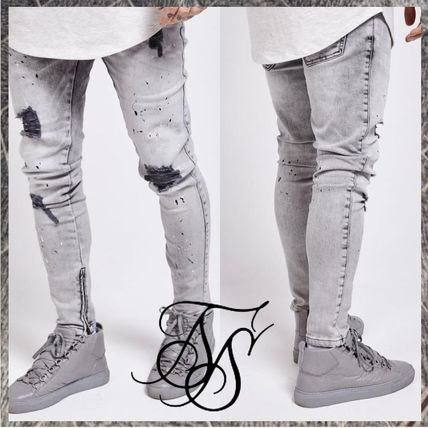Denim Skinny Fit Jeans & Denim