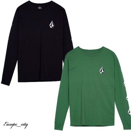 Crew Neck Long Sleeves T-Shirts