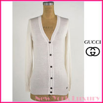 GUCCI Cashmere Long Sleeves Cashmere