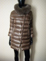 HERNO Fur Plain Down Jackets