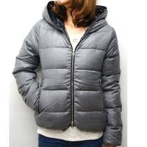 DUVETICA Short Cashmere Down Jackets