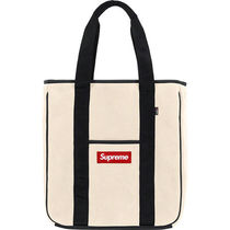 Supreme Unisex Street Style Collaboration Totes