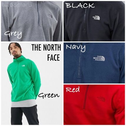 THE NORTH FACE Sweatshirts Street Style Long Sleeves Plain Sweatshirts