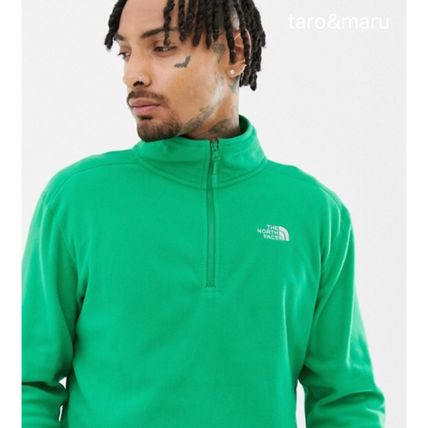 THE NORTH FACE Sweatshirts Street Style Long Sleeves Plain Sweatshirts 19