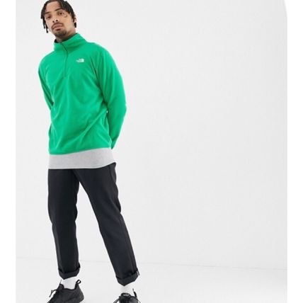 THE NORTH FACE Sweatshirts Street Style Long Sleeves Plain Sweatshirts 20