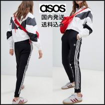 ASOS Stripes Casual Style Sweat Long Sweatpants