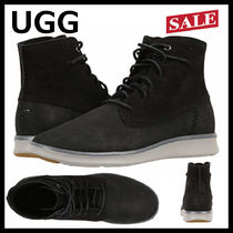 UGG Australia Mountain Boots Suede Plain Outdoor Boots