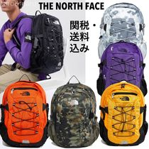 THE NORTH FACE Camouflage Unisex Nylon Street Style Backpacks