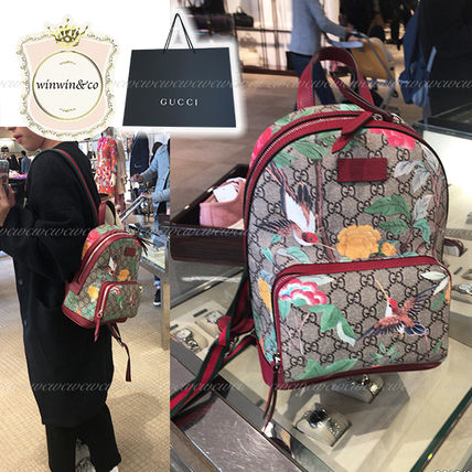 1e8ea5325e0f18 GUCCI Women's Red Backpacks Best Sellers: Shop Online in US | BUYMA