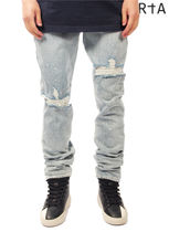 RtA Street Style Plain Cotton Jeans & Denim