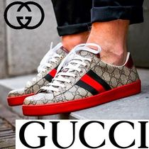 GUCCI Unisex Street Style Sneakers