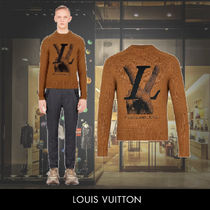 Louis Vuitton Crew Neck Cashmere Long Sleeves Special Edition