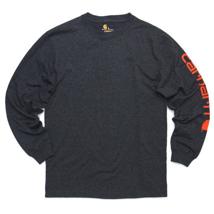 Carhartt Long Sleeve Crew Neck Street Style Long Sleeves Oversized