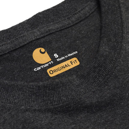 Carhartt Long Sleeve Crew Neck Street Style Long Sleeves Oversized 3