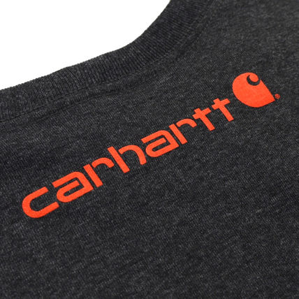 Carhartt Long Sleeve Crew Neck Street Style Long Sleeves Oversized 4