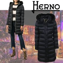 HERNO Plain Long Down Jackets