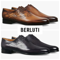 Berluti Leather Oxfords