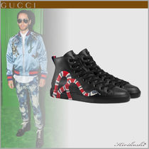 GUCCI Stripes Driving Shoes Street Style Other Animal Patterns