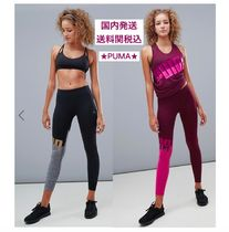 PUMA Casual Style Street Style Bi-color Long Bottoms