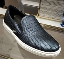 Jimmy Choo Blended Fabrics Street Style Plain Leather