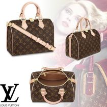 Louis Vuitton MONOGRAM Monogram 2WAY Leather Elegant Style Handbags