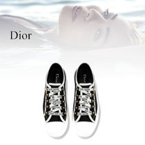 Christian Dior Dior Black Canvas Low Cut Sneaker