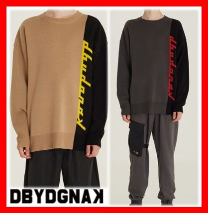 DBYDGNAK Knits & Sweaters Unisex Street Style Knits & Sweaters