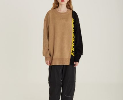 DBYDGNAK Knits & Sweaters Unisex Street Style Knits & Sweaters 2