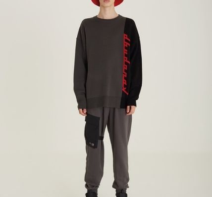 DBYDGNAK Knits & Sweaters Unisex Street Style Knits & Sweaters 5