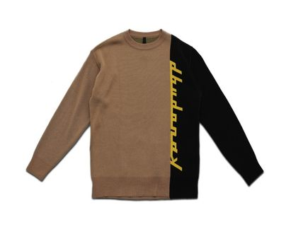 DBYDGNAK Knits & Sweaters Unisex Street Style Knits & Sweaters 9