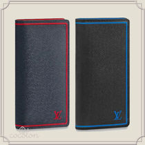 Louis Vuitton BRAZZA [Louis Vuitton] PORTEFEUILLE BRAZZA WALLET TAIGA Bi-color