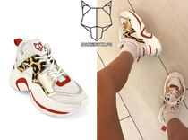 Naked Wolfe Leopard Patterns Casual Style Street Style Collaboration