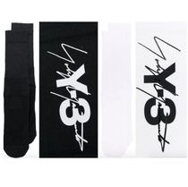 Y-3 Unisex Street Style Cotton Undershirts & Socks