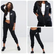 Nike Crew Neck Casual Style Street Style Long Sleeves Plain