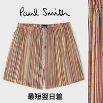 Paul Smith Stripes Cotton Trunks & Boxers