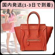 CELINE Luggage Leather Handbags