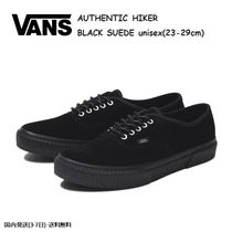 VANS AUTHENTIC Unisex Suede Street Style Plain Sneakers