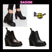 Dr Martens HURSTON Street Style Leather Boots Boots